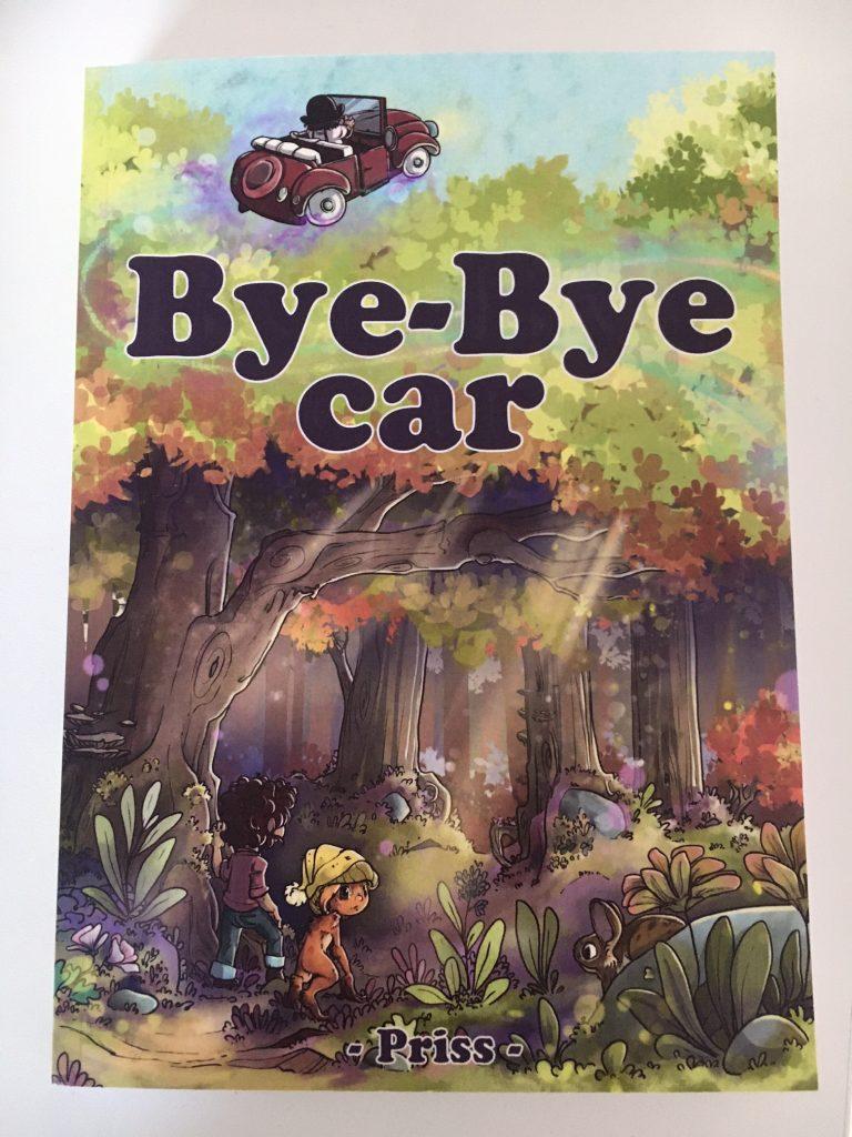 Tadaaam ! La couverture de Bye-Bye Car 1